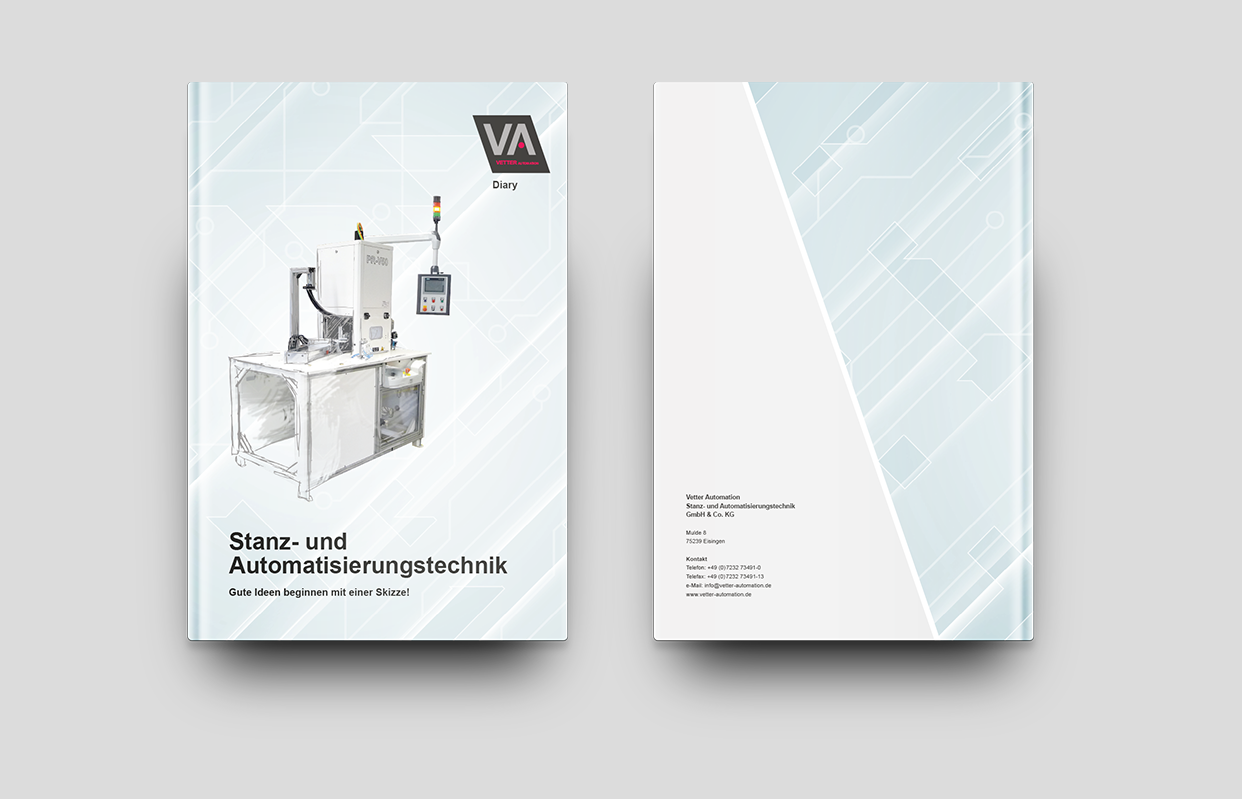 Vetter Automation GmbH & Co. KG: DIN A4 Diary